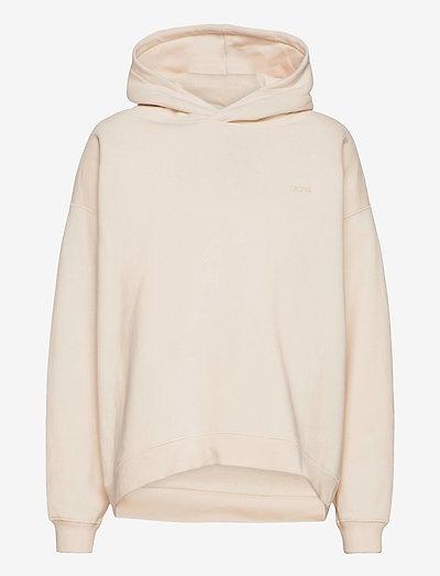 Jam hoodie - sweatshirts & hættetrøjer - cream