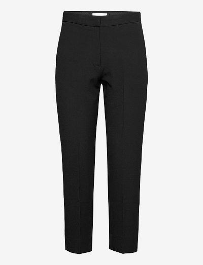 Judith - broeken med straight ben - black