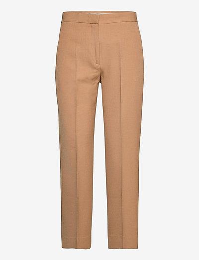 Judith - bukser med lige ben - light camel