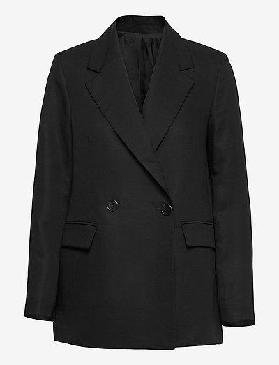 Iris - oversized blazers - black