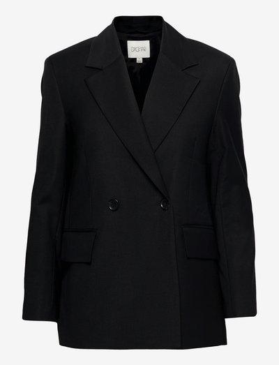 Iris - dobbeltradede blazere - black