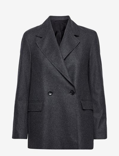 Iris flannel - oversized blazere - grey