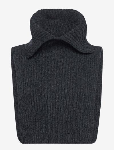Nemi - halsvarmere - dark grey melange