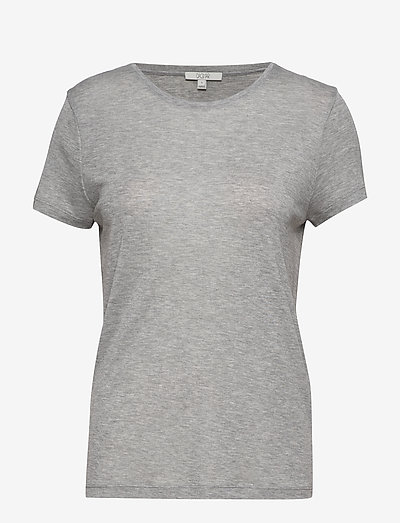 Upama rib top - tops zonder mouwen - light grey melange