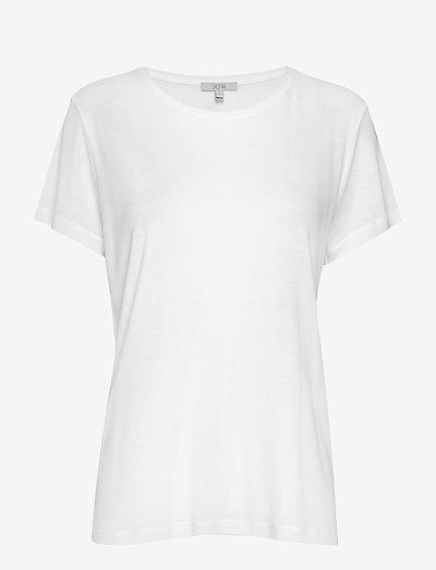 Upama rib top - t-shirt & tops - white