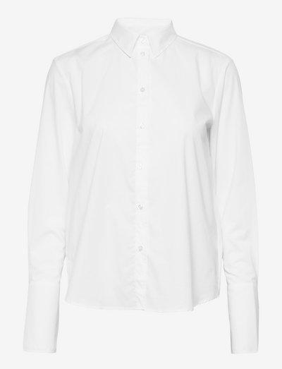 Linda - denimskjorter - white