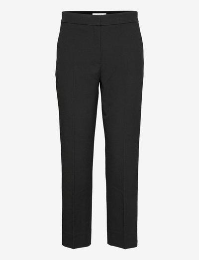 Judith - bukser med lige ben - black