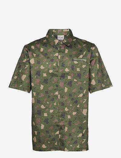 recamo shirt - chemises oxford  use default - green camo