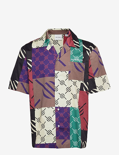 repatch shirt - chemises oxford  use default - multi colored