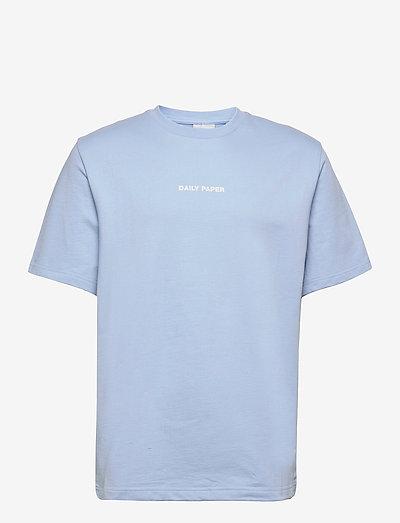 refarid tee - basic t-shirts - chambray blue