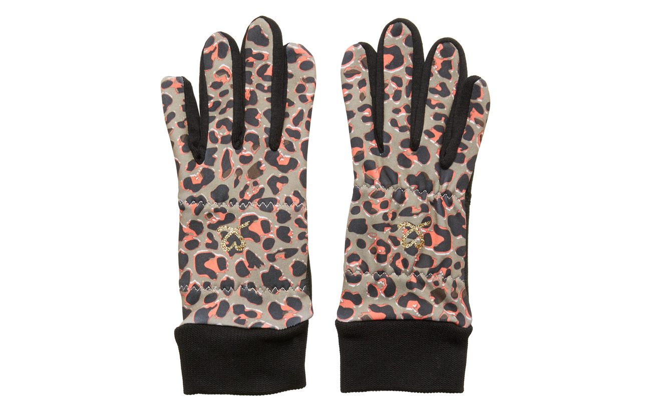 Daily Sports LEONA GLOVE WITH LOGO - COFFEE
