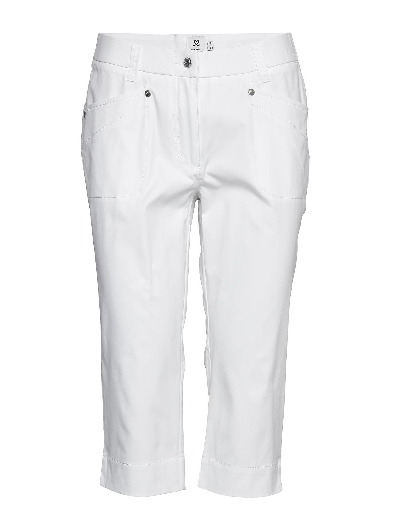 Image of Lyric Capri 74 Cm Sport Pants Hvid Daily Sports (3446804137)