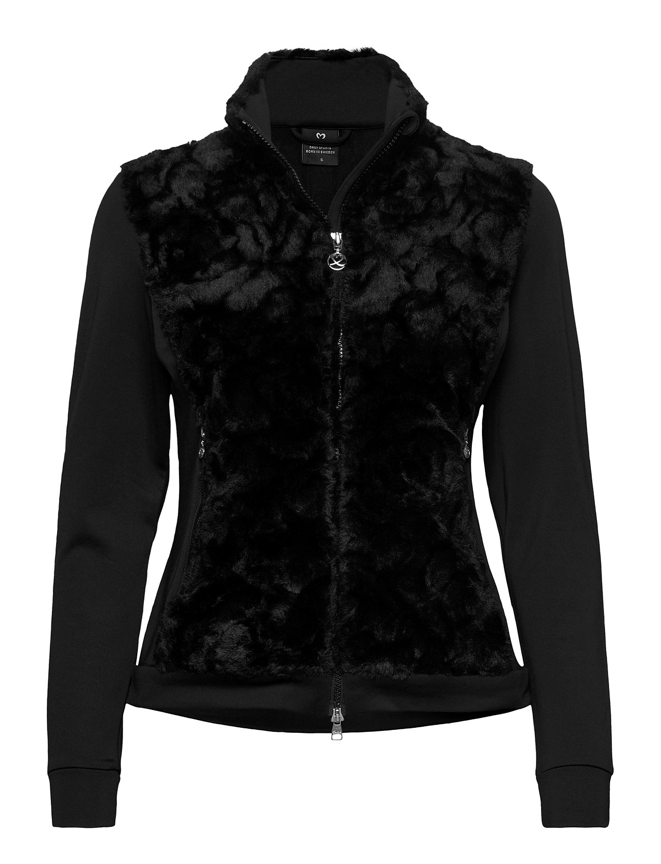 Image of Frances Jacket Outerwear Sport Jackets Sort Daily Sports (3448365453)