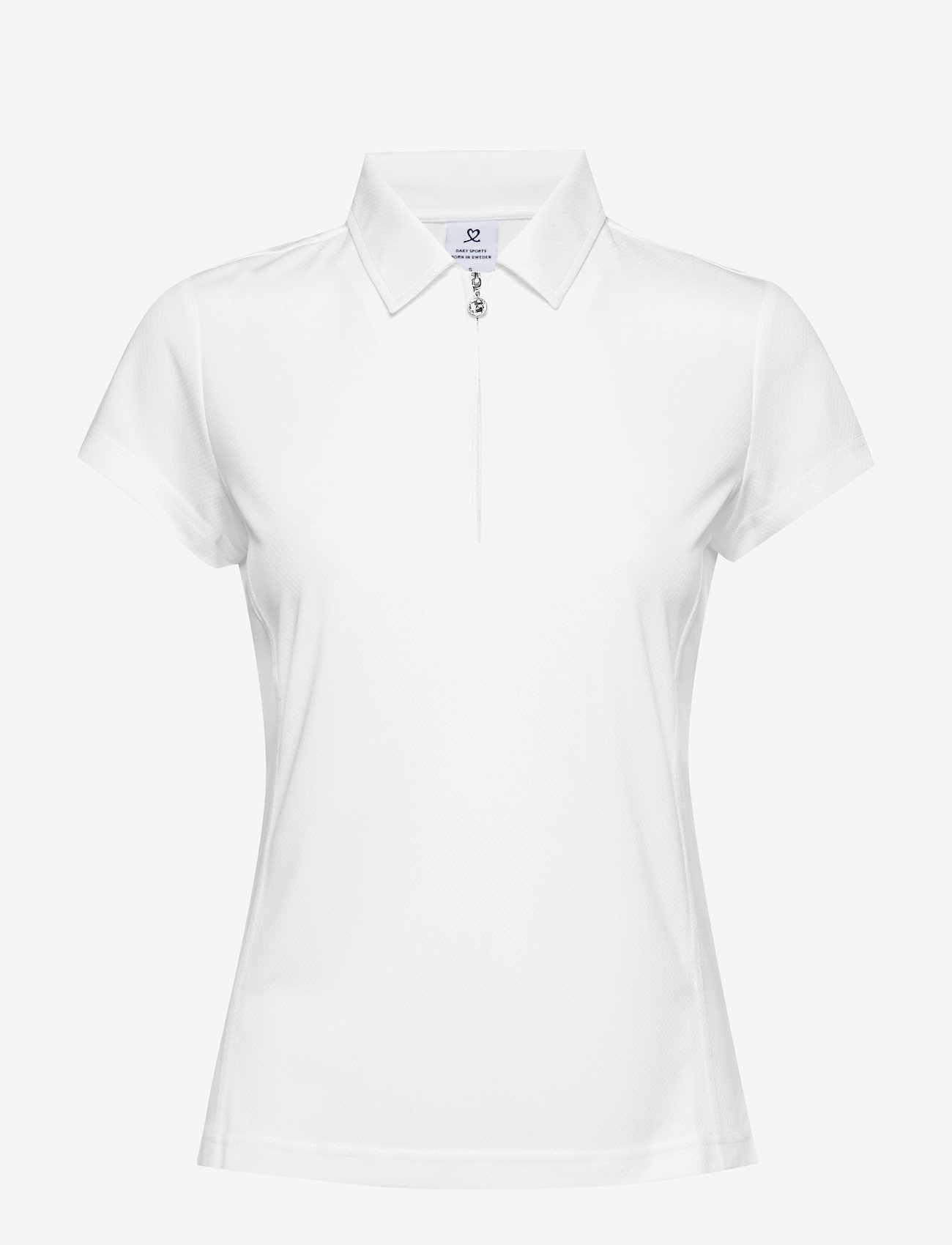 Daily Sports - MACY CAP/S POLO SHIRT - poloshirts - white - 0