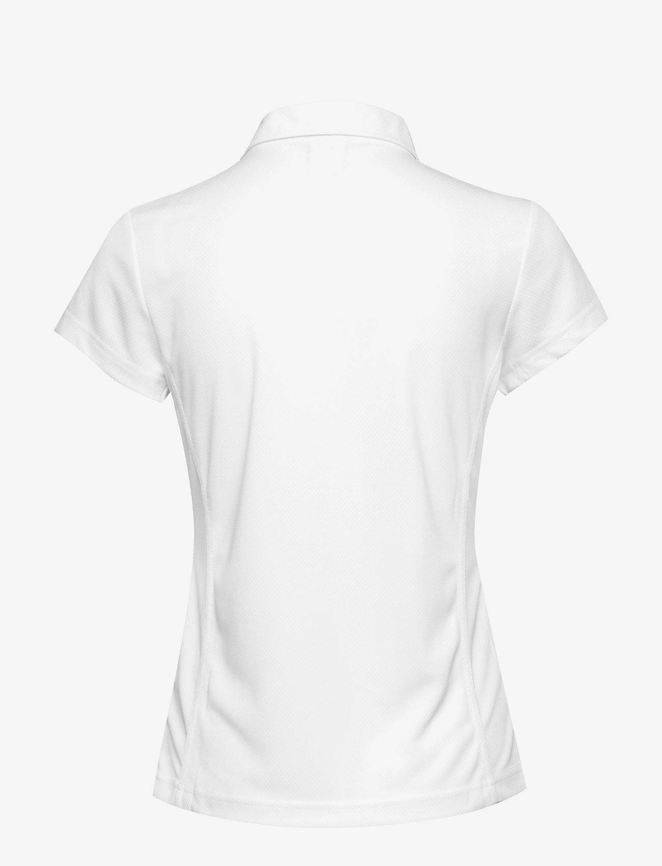 Daily Sports - MACY CAP/S POLO SHIRT - poloshirts - white - 1
