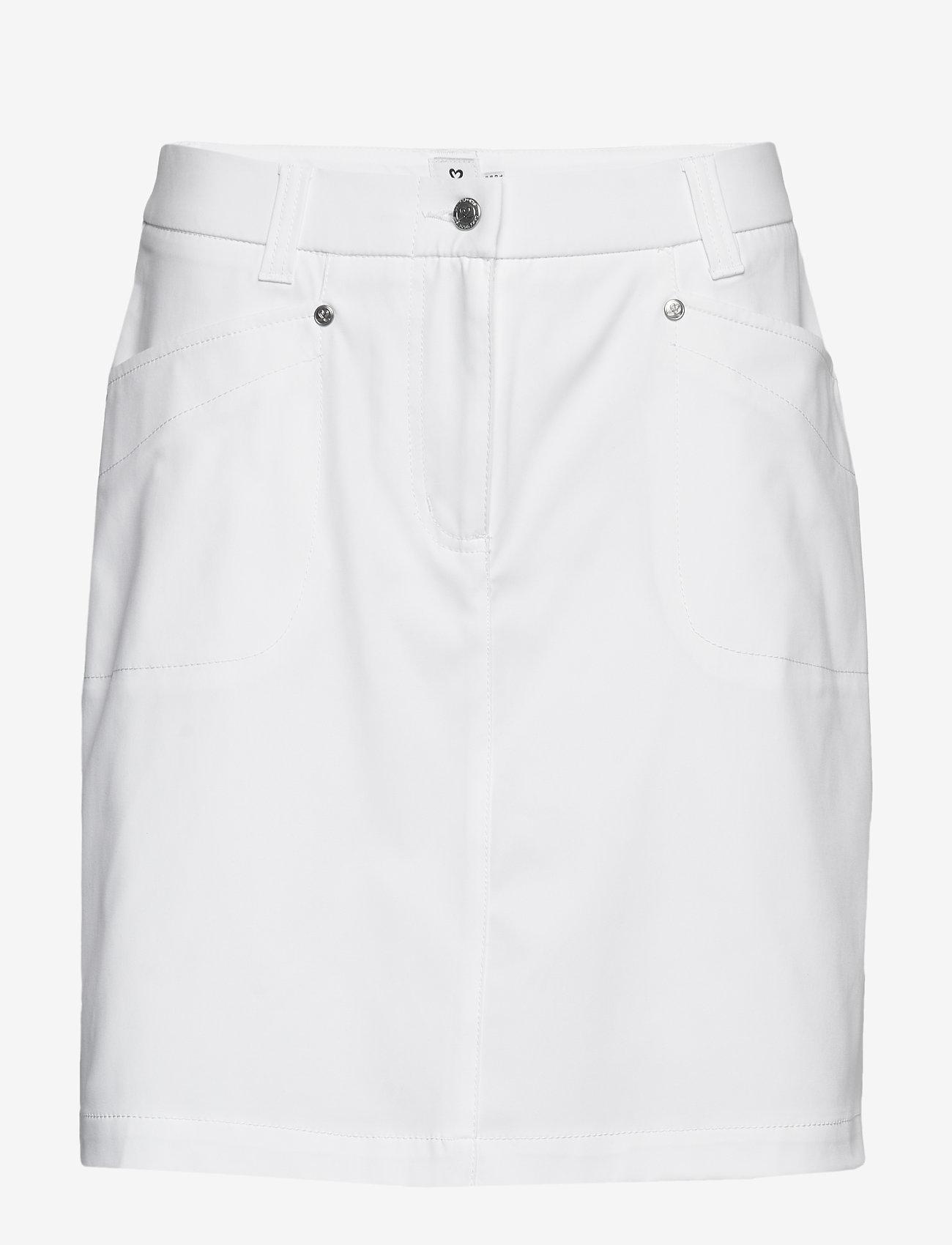 Daily Sports - LYRIC SKORT 52 CM - sports skirts - white - 0
