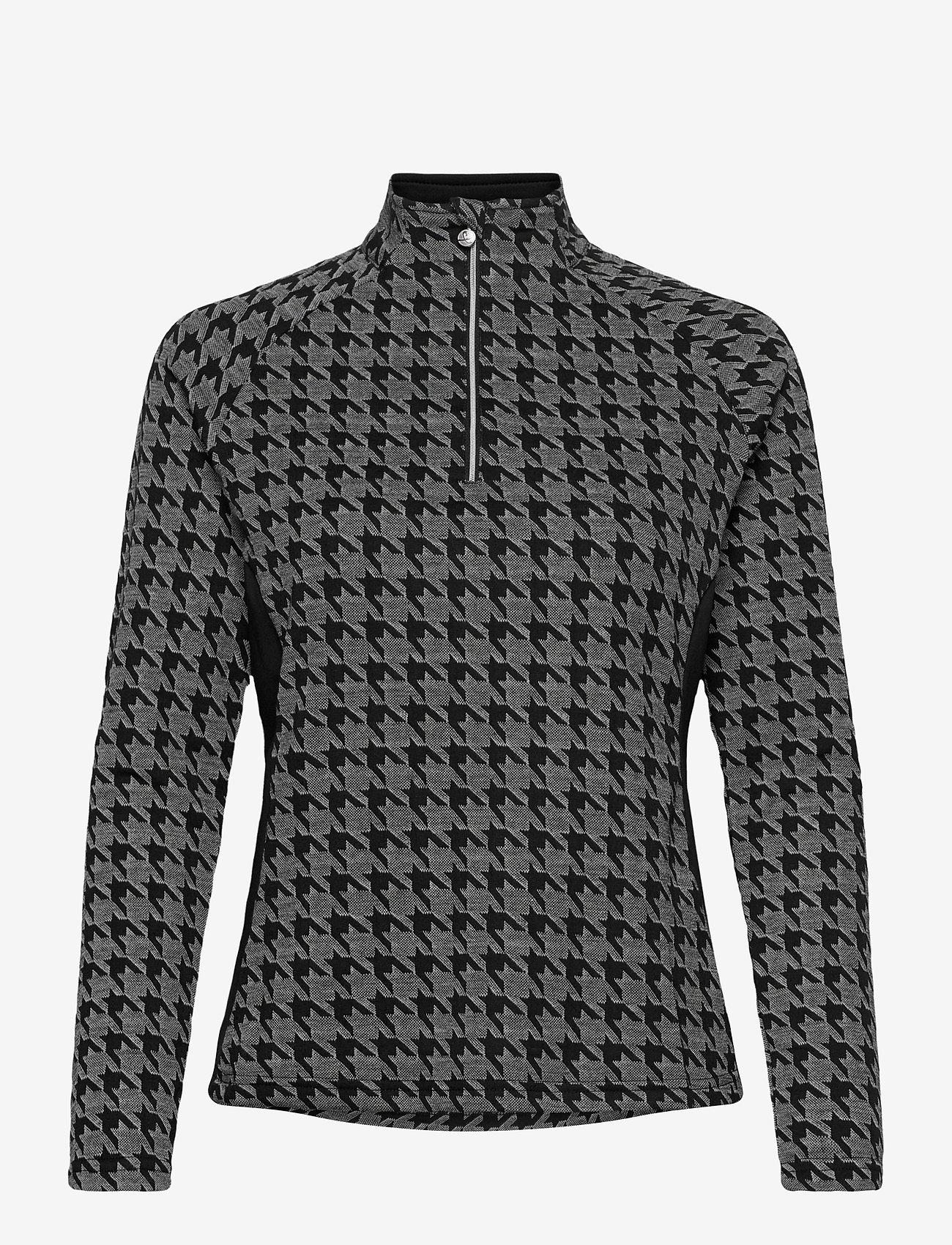 Daily Sports - BEATA HALF NECK - sweatshirts - black - 0