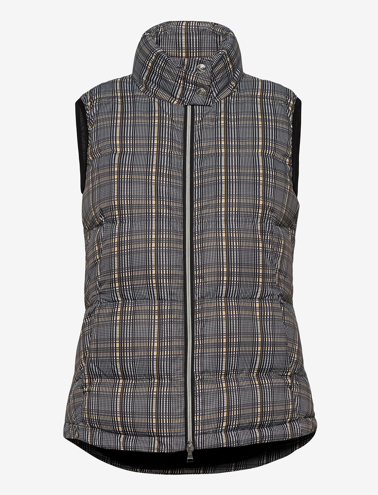 Daily Sports - EDYTH PADDED VEST - puffer vests - black - 1