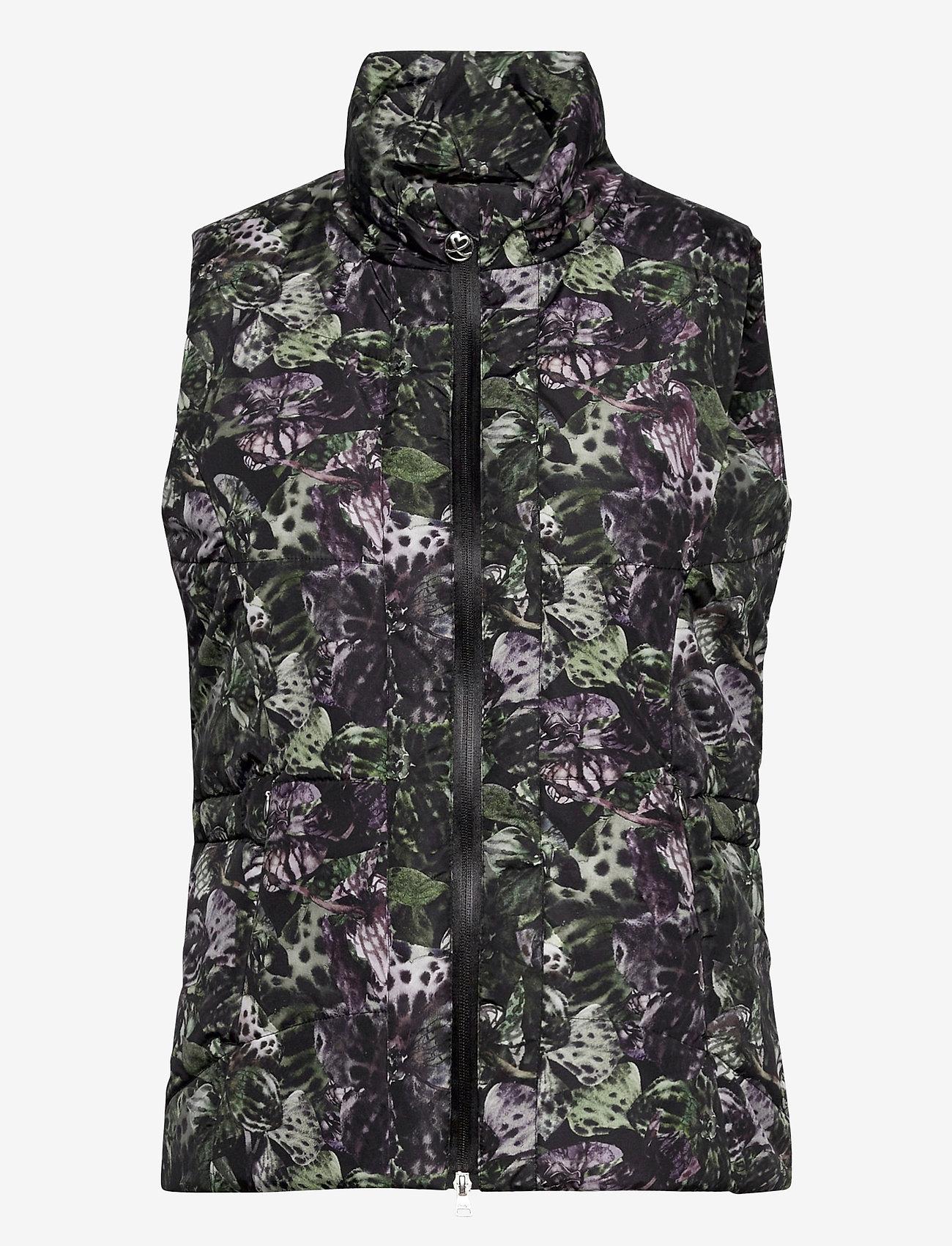 Daily Sports - ORCHIDE VEST - puffer vests - black - 0