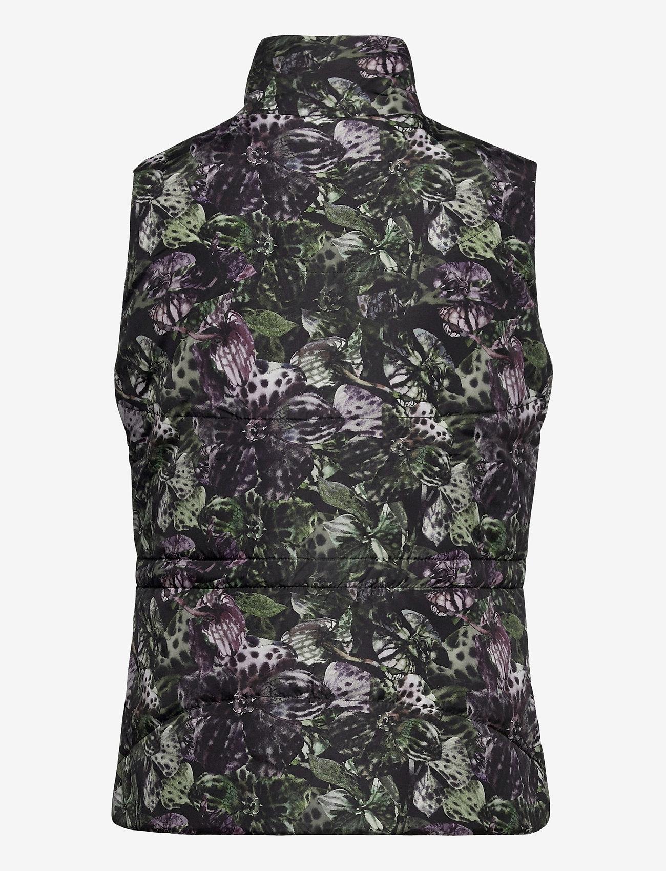 Daily Sports - ORCHIDE VEST - puffer vests - black - 1