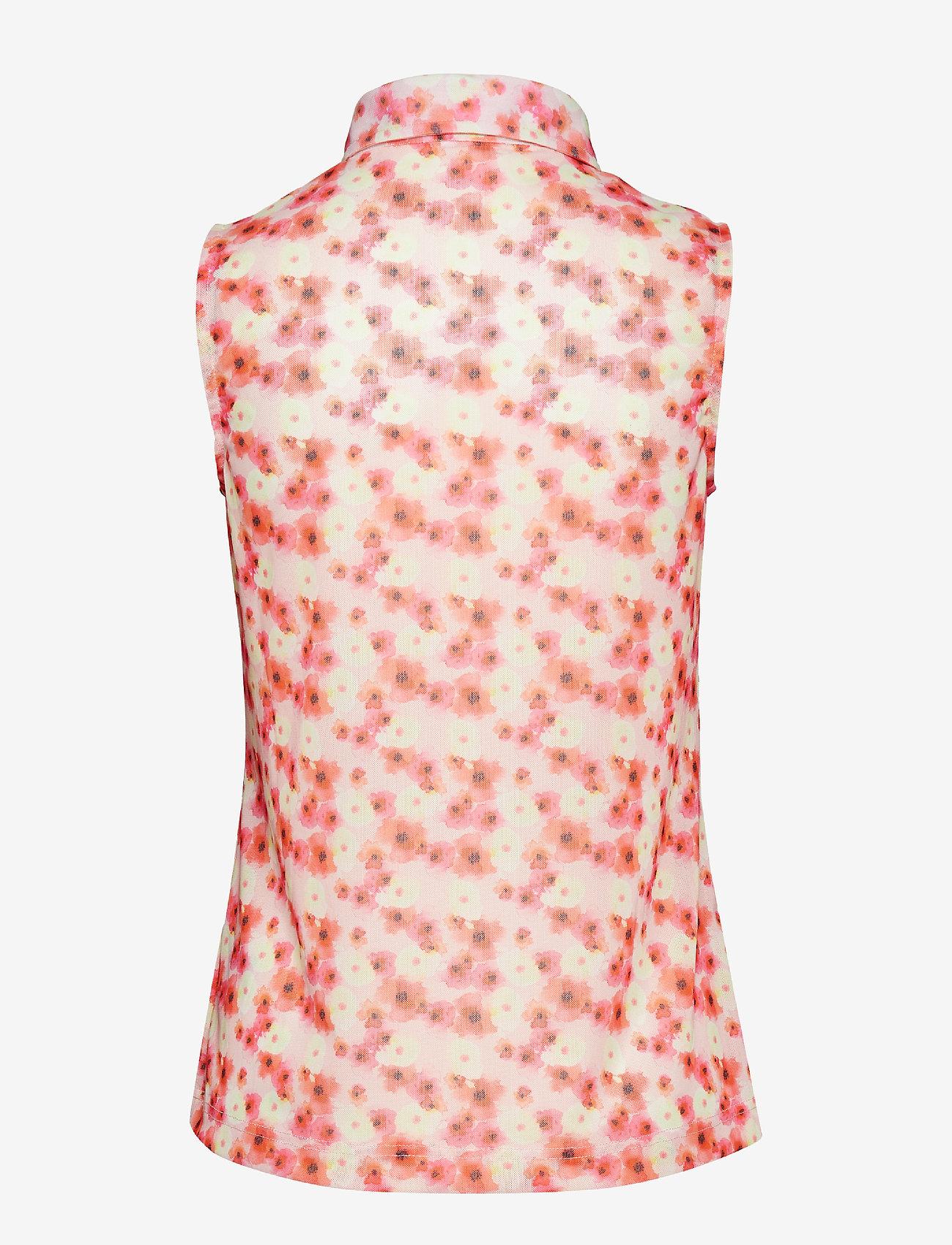 Tori Mesh Sl Polo Shirt (Blush) (274.50 kr) - Daily Sports APQQA7aM