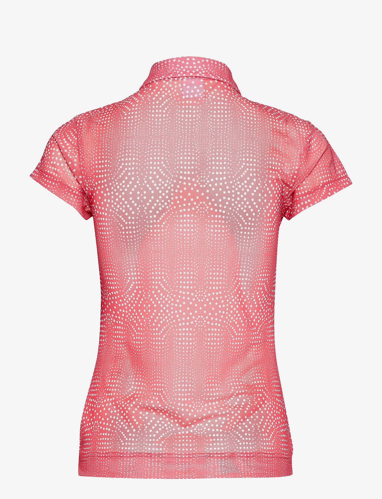 Aggie Mesh Cap/s Polo Shirt (Watermelon) - Daily Sports fR5dju