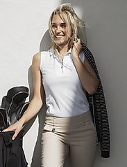 Daily Sports - MACY SL POLO SHIRT - poloshirts - white - 0