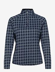 Daily Sports - BEATA HALF NECK - sweatshirts - crown blue - 0