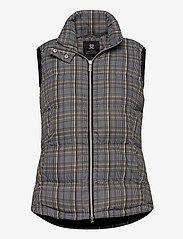 Daily Sports - EDYTH PADDED VEST - puffer vests - black - 0