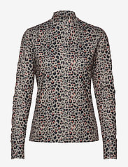 Daily Sports - PRINTED LS MOCK NECK - hauts à manches longues - almond - 0