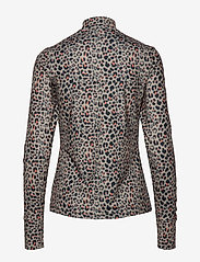 Daily Sports - PRINTED LS MOCK NECK - hauts à manches longues - almond - 1