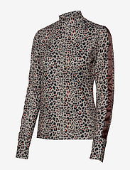 Daily Sports - PRINTED LS MOCK NECK - hauts à manches longues - almond - 3