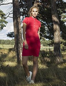 SELENA CAP S DRESS - sports dresses - sangria