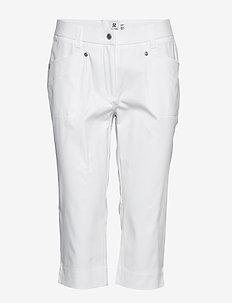 LYRIC CAPRI 74 CM - golfbroeken - white