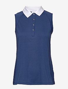 CARROL SL POLO SHIRT - koszulki polo - night blue