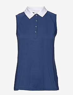 CARROL SL POLO SHIRT - paidat - night blue