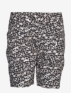 LEONIE SHORTS - golf shorts - black