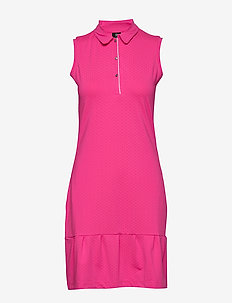 RITA SL DRESS - urheilumekot - hot pink