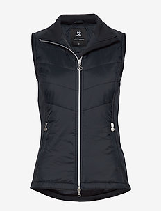 DRAW VEST - golf-jacken - navy