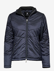 JACLYN PADDED JACKET - insulated jackets - navy