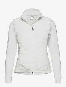 FRANCES JACKET - golf jackets - ivory