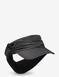 AURORA WIND VISOR - hats - black