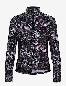 ORCHIDE HALF NECK - sweats et sweats à capuche - black
