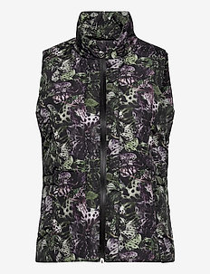 ORCHIDE VEST - puffer vests - black