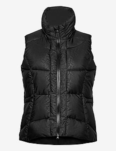 QUINCY VEST - puffer vests - black