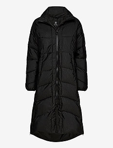 QUINCY PADDED COAT - parka coats - black