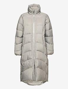 QUINCY PADDED COAT - parka coats - cinder