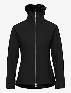 ALEXIA JACKET - softshell jackets - black