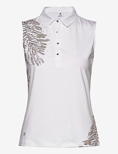 LYNN SL POLO SHIRT - paidat - white