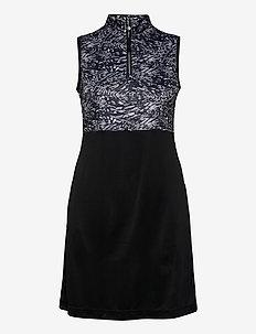 LUNA SL DRESS - sportkleider - black